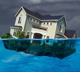 mortgages slipping underwater