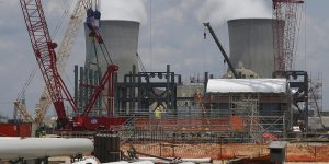 Westinghouse is the contractor building two new nuclear reactors at Plant Vogtle. Courtesy of WABE.