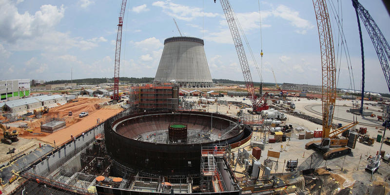 Georgia Power is building two new nuclear reactors at Plant Vogtle. Photo courtesy of WABE.